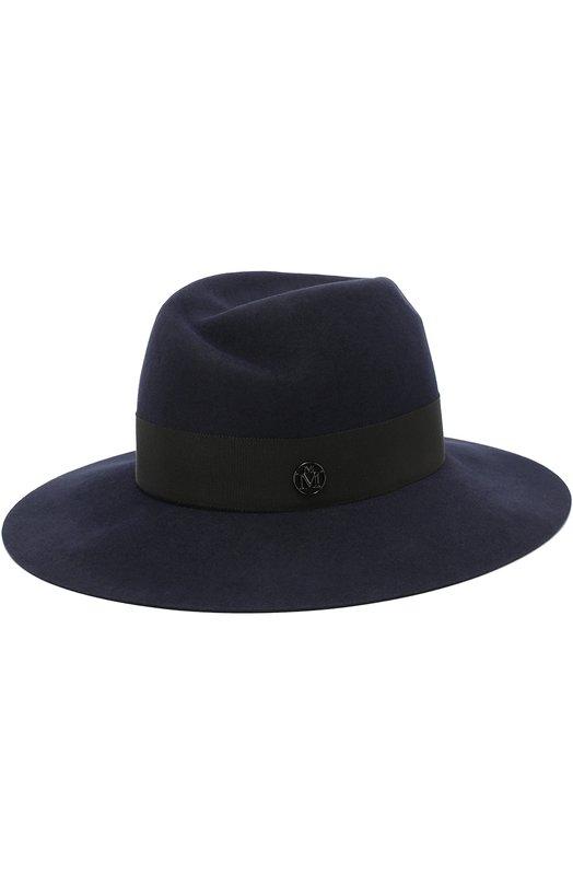 Шляпа Henrietta с лентой Maison Michel Maison Michel