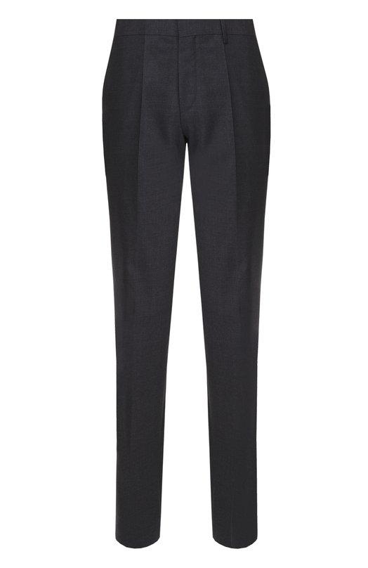 Классические шерстяные брюки BOSSБрюки<br><br><br>Российский размер RU: 54<br>Пол: Мужской<br>Возраст: Взрослый<br>Размер производителя vendor: 52<br>Материал: Шерсть: 100%;<br>Цвет: Темно-синий