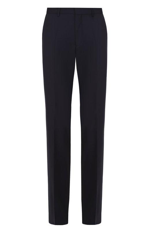 Классические шерстяные брюки BOSSБрюки<br><br><br>Российский размер RU: 60<br>Пол: Мужской<br>Возраст: Взрослый<br>Размер производителя vendor: 58<br>Материал: Шерсть: 100%;<br>Цвет: Темно-синий
