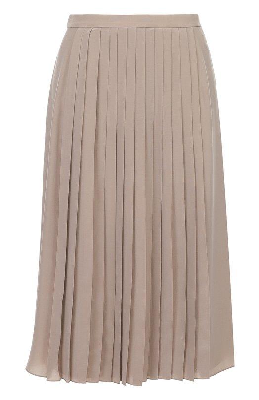 Шелковая плиссированная юбка-миди Ralph Lauren 915/IXJ37/FXJ37