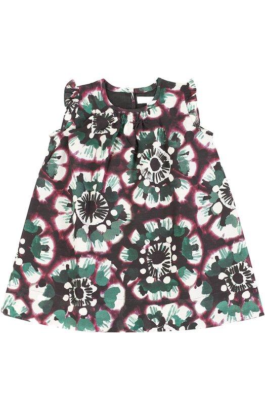Платье с цветочным принтом Burberry 4013530