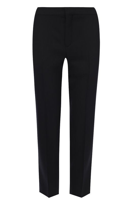 Укороченные брюки прямого кроя со стрелками Chloe 16APA03/16A062