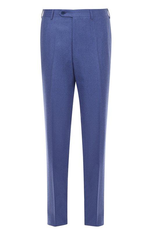 Классические шерстяные брюки CanaliБрюки<br><br><br>Российский размер RU: 52<br>Пол: Мужской<br>Возраст: Взрослый<br>Размер производителя vendor: 52-R<br>Материал: Шерсть: 100%;<br>Цвет: Голубой