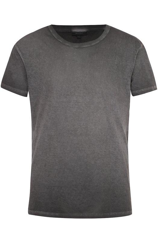 Хлопковая футболка с круглым вырезом Belstaff 71140149