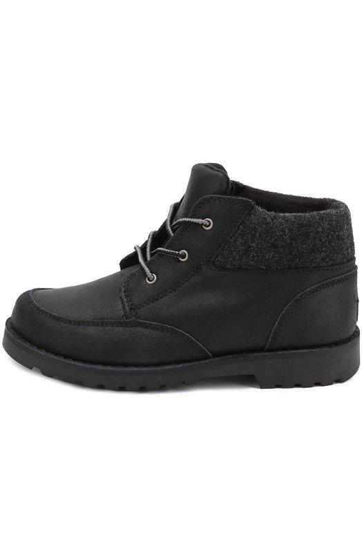 Кожаные ботинки на шнуровке UGG Australia 1008001K