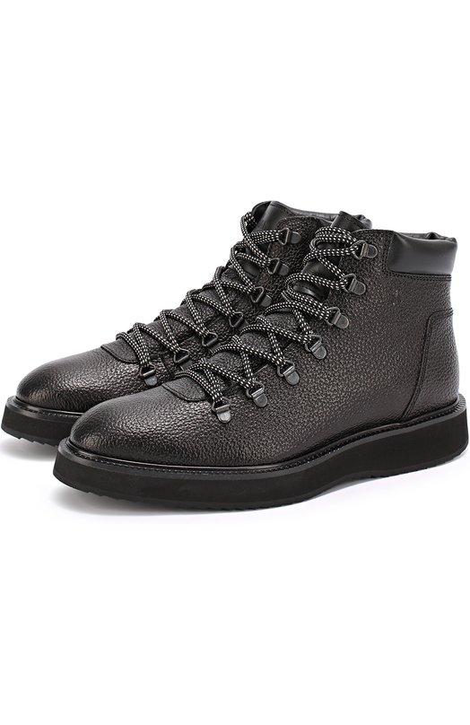 Кожаные ботинки с тиснением Hogan HXM2710S632E5S