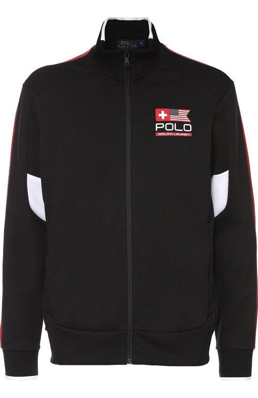 Толстовка на молнии с контрастной отделкой Polo Ralph Lauren A18/XZ18G/XY18G