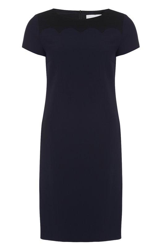 Приталенное мини-платье с коротким рукавом HUGO 50321990