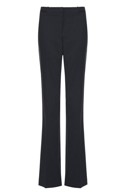Шерстяные расклешенные брюки со стрелками HUGO 50319201
