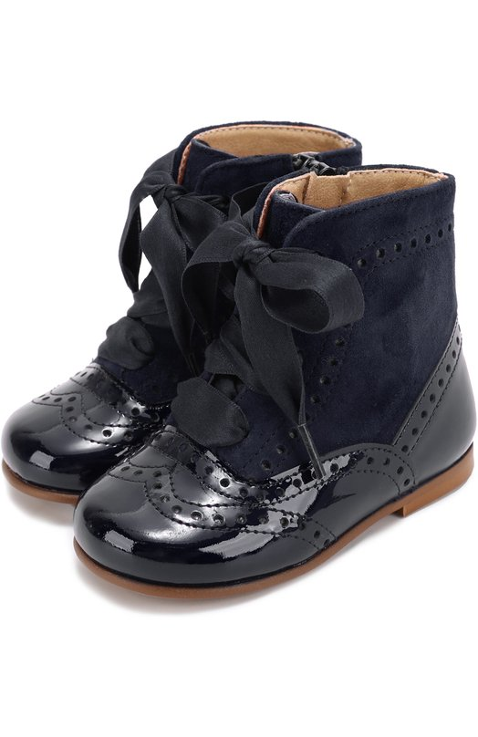Комбинированные ботинки с брогированием Clarys 1372/0DE0N/ANTE/21-24