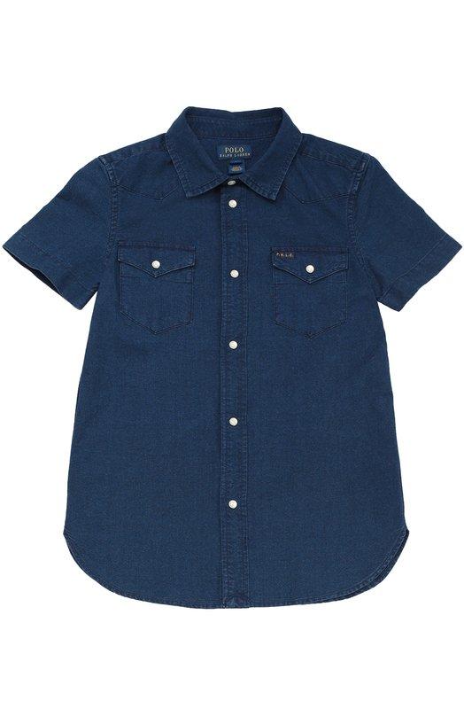 Джинсовая рубашка с короткими рукавами Polo Ralph Lauren K04/134U6/074U6