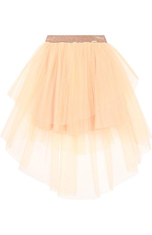 Многоярусная пышная юбка Jean Paul GaultierЮбки<br><br><br>Размер Years: 6<br>Пол: Женский<br>Возраст: Детский<br>Размер производителя vendor: 116-122cm<br>Материал: Полиамид: 100%; Подкладка-хлопок: 100%;<br>Цвет: Розовый