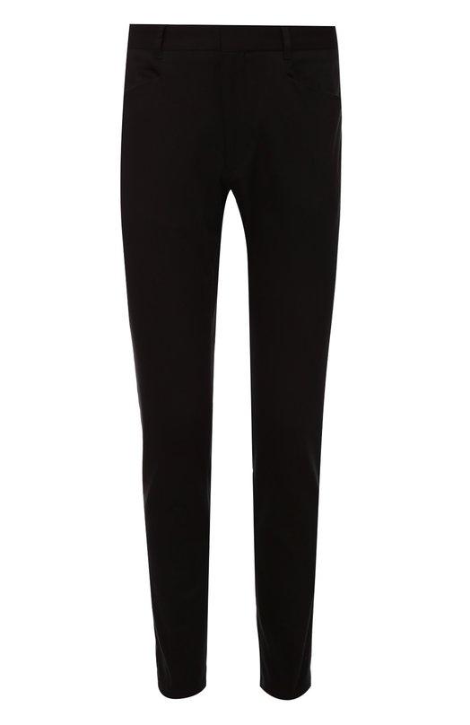Хлопковые брюки прямого кроя HUGO 50326130