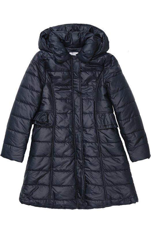 Приталенное пальто с капюшоном Aletta AF666351/9-16