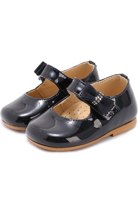 Лаковые туфли с бантом Clarys 1090/0DE0N/17-20
