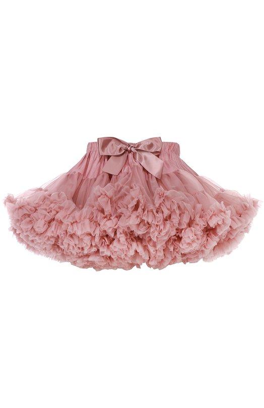 Пышная юбка с бантом Angel's FaceЮбки<br><br><br>Размер Years: 4<br>Пол: Женский<br>Возраст: Детский<br>Размер производителя vendor: 104-110cm<br>Материал: Нейлон: 100%;<br>Цвет: Розовый