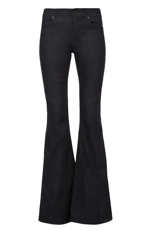 Расклешенные джинсы с кожаной отделкой Tom Ford PAD008/DEX023
