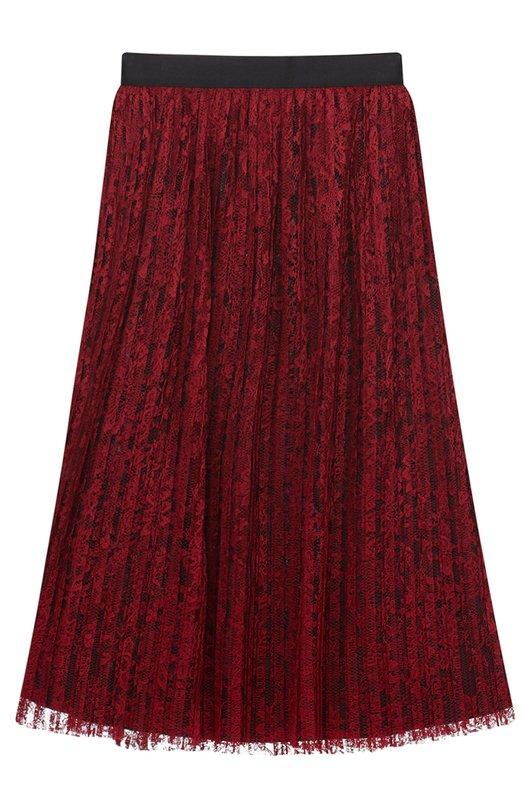 Кружевная плиссированная юбка-миди Alice + Olivia C608353333