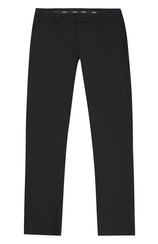 Брюки прямого кроя из эластичного хлопка Giorgio Armani 6X4P04/4N0IZ/11A-16A