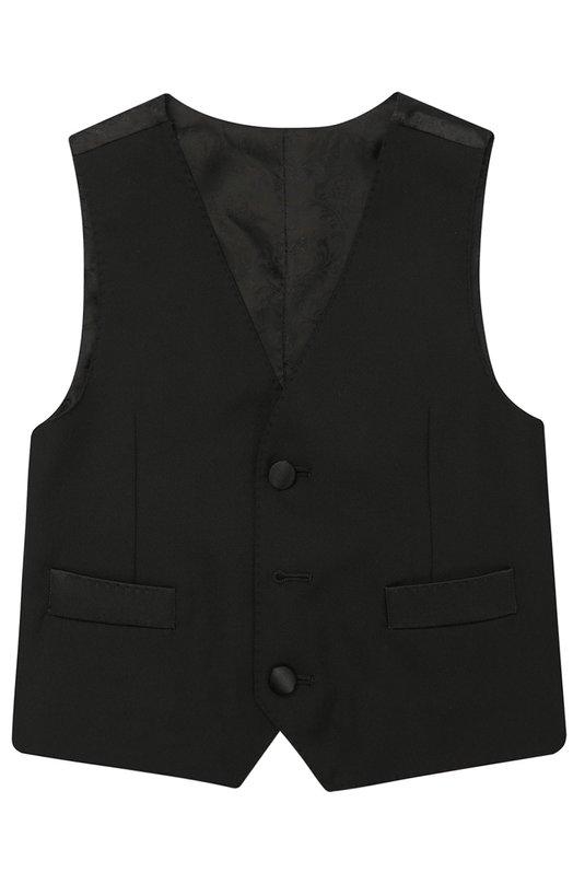 Шерстяной жилет на пуговицах Dolce & Gabbana 0131/L41V06/FU2UZ/2-6