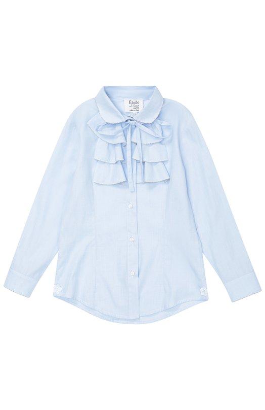 Хлопковая блуза с бантом Aletta AC666272/3-8