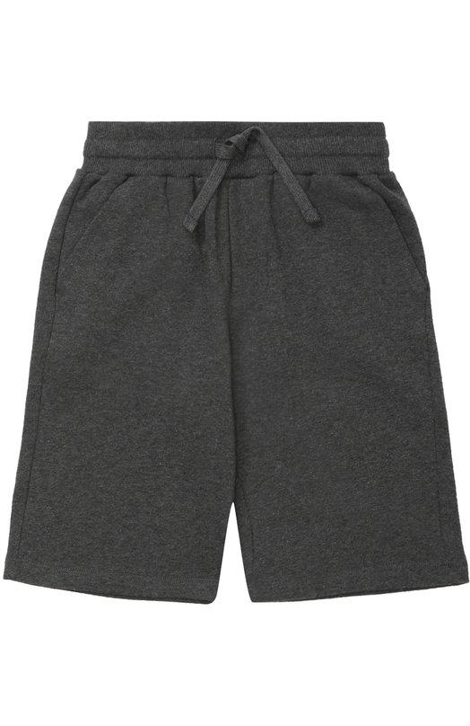 Хлопковые шорты с карманами Dolce & Gabbana 0131/L4JQ90/G7IIT/8-12