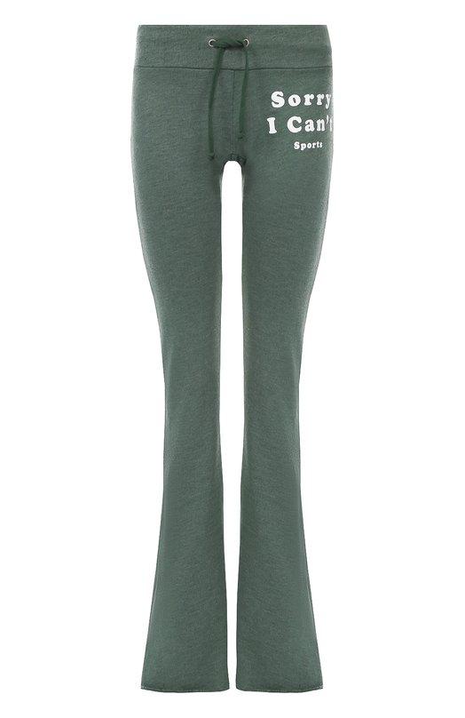 Расклешенные брюки с эластичным поясом Wildfox WIT91535M