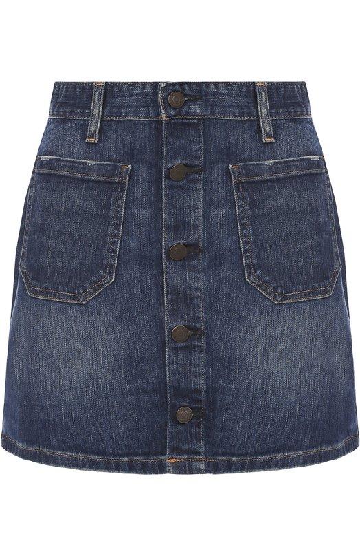 Джинсовая мини-юбка с накладными карманами Denim&Supply by Ralph Lauren W21/BUTS1/083DS