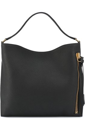 Сумка Medium Alix Hobo с косметичкой Tom Ford чёрная | Фото №1