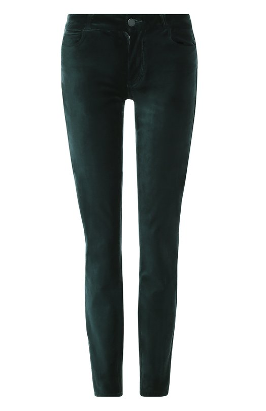 Бархатные джинсы-скинни PaigeДжинсы<br><br><br>Российский размер RU: 46<br>Пол: Женский<br>Возраст: Взрослый<br>Размер производителя vendor: 28<br>Материал: Хлопок: 54%; Абалон: 44%; Спандекс: 2%;<br>Цвет: Темно-зеленый