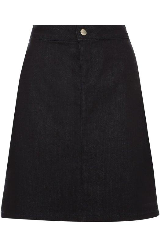 Джинсовая мини-юбка А-силуэта HUGO 50314385