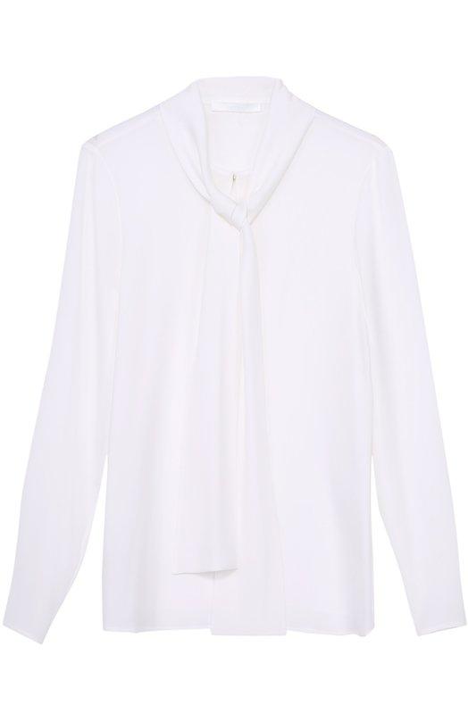 Блуза прямого кроя с воротником аскот HUGO 50327125