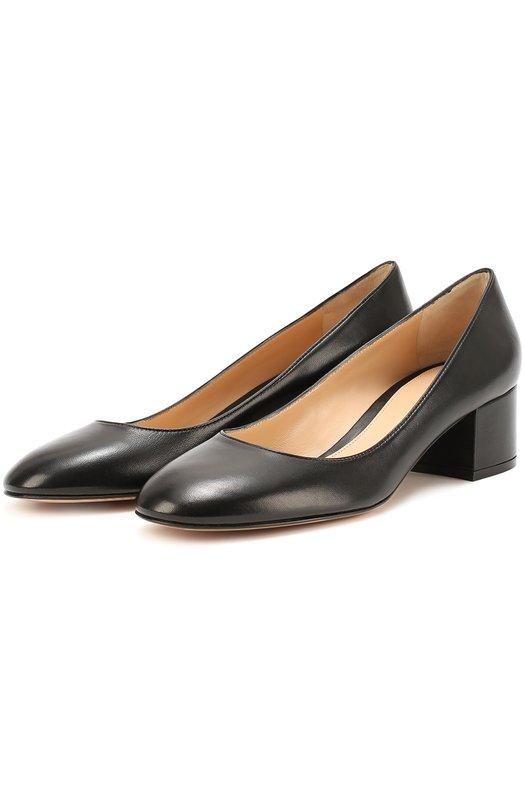 Купить Кожаные туфли на низком каблуке Gianvito Rossi Италия 5118871 G20084.45RIC.NAP
