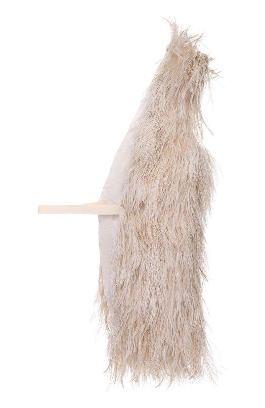 Односторонний жилет с перьевой отделкой Isabel Benenato DA01F16