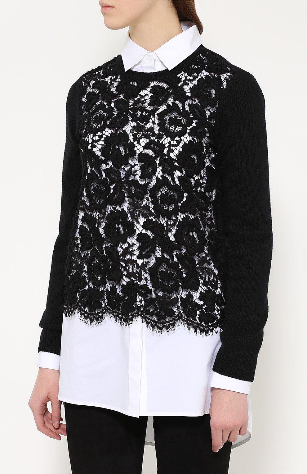 Кружевной пуловер с доставкой