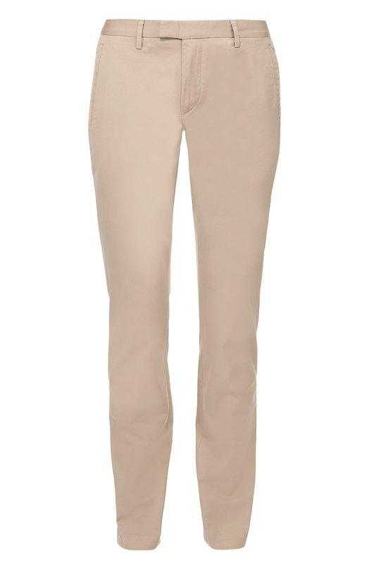 Хлопковые брюки чинос Michael Kors CU63C970HD