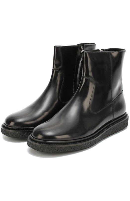 Кожаные ботинки на массивной подошве Isabel Marant Etoile 16A008S/C0NN0R