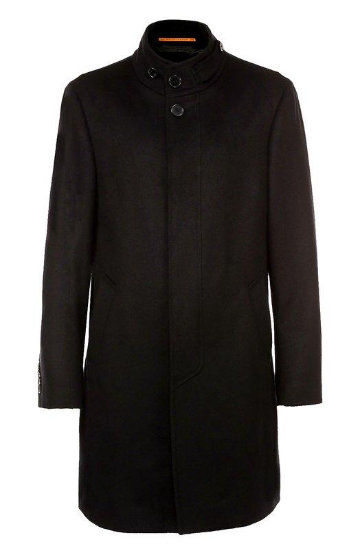 Пальто из смеси шерсти и кашемира с воротником-стойкой Baldessarini 18648/3653