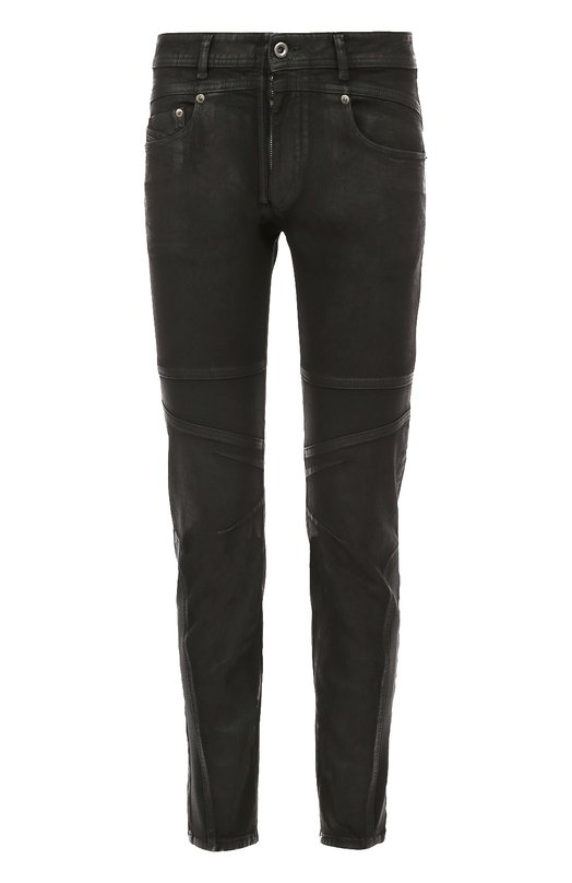 Зауженные джинсы с декоративной отделкой Diesel 00SRB7/BG6AT