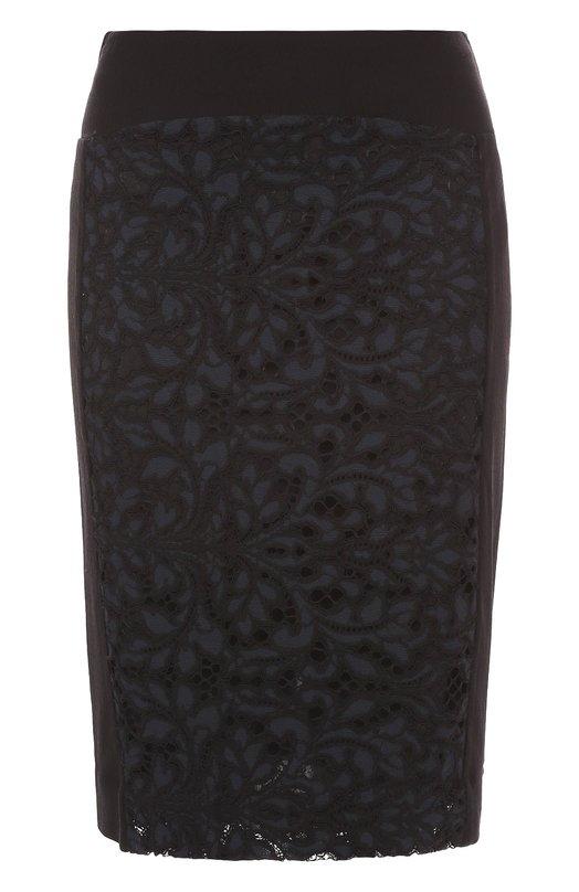 Кружевная юбка-карандаш с разрезом Diane Von Furstenberg S986701S16