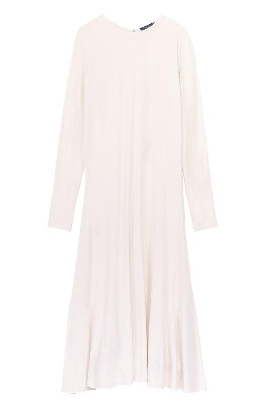 Приталенное платье-миди с длинным рукавом Polo Ralph Lauren V38/XZ2KS/XY2KS