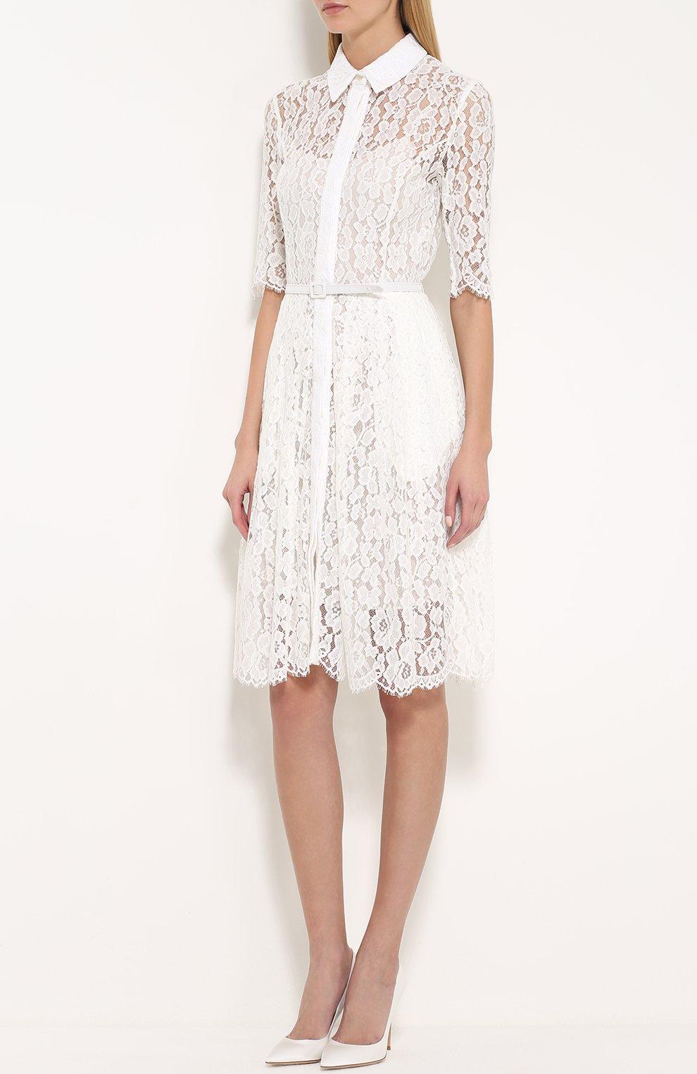 Платье сорочка кружевное