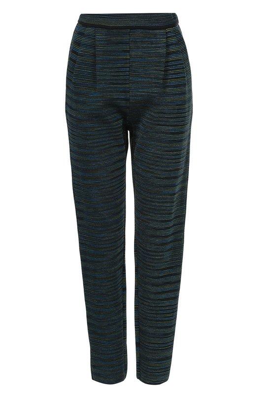 Укороченные брюки прямого кроя с защипами M Missoni LD3KF01X/277