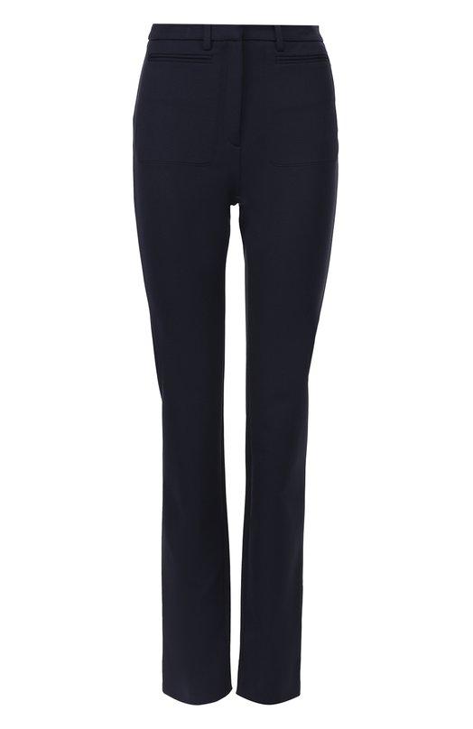Расклешенные брюки с карманами Maison MargielaБрюки<br><br><br>Российский размер RU: 40<br>Пол: Женский<br>Возраст: Взрослый<br>Размер производителя vendor: 38<br>Материал: Полиамид: 91%; Эластан: 9%;<br>Цвет: Синий