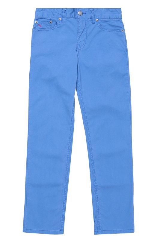Хлопковые брюки прямого кроя Polo Ralph Lauren B20/XZ1PJ/XY1PJ