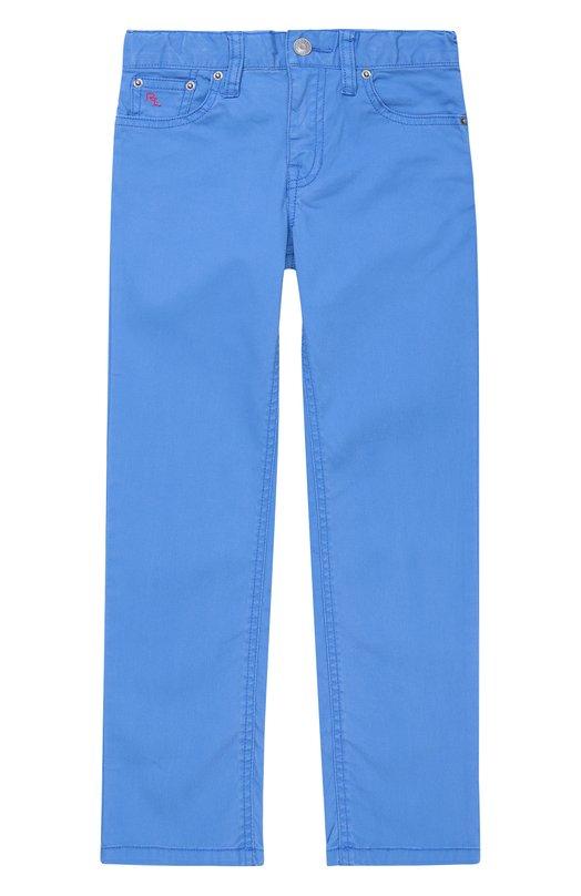 Хлопковые брюки прямого кроя Polo Ralph Lauren K20/XZ1PJ/XY1PJ