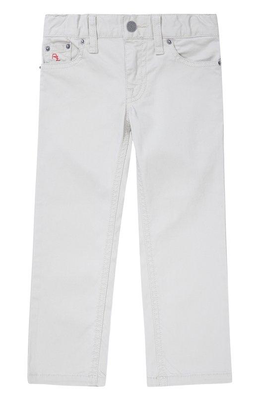 Хлопковые брюки прямого кроя Polo Ralph Lauren T20/XZ1PJ/XY1PJ