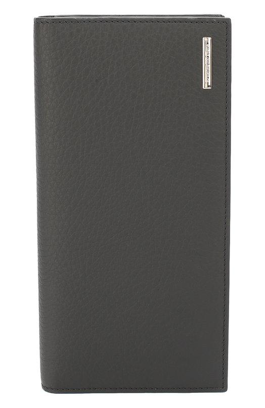 Кожаный бумажник с отделением для кредитных карт Ermenegildo Zegna E1128XT0E