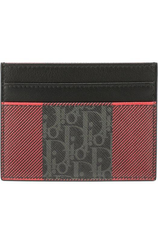 Кожаный футляр для кредитных карт Dior 2DECH001XIW