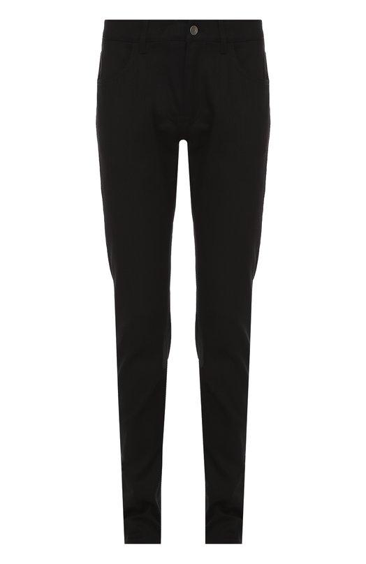Хлопковые джинсы с заниженной линией шага Dolce & Gabbana 0101/G6X0CD/G8U52